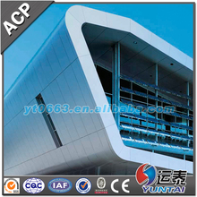 4mm aluminium composite panels with PVDF coating outdoor decoration building cladding