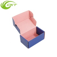 Decorative Antique Corrugated Cardboard Paper Packaging Folding Jewelry Skincare Cosmetic Gift Box
