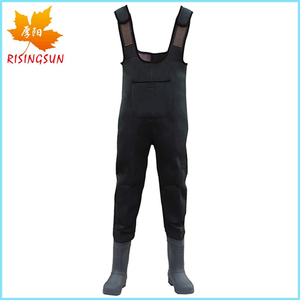 Hodgman Neoprene Waders 4mm Neoprene Fishing Waders Rubber Boots Work Waders Neoprene Pants Special Purpose Safety Shoes