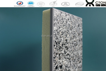 Acrylic resin exterior precast mold slab lightweight concrete partition wall panels buy for Precast concrete exterior wall panels