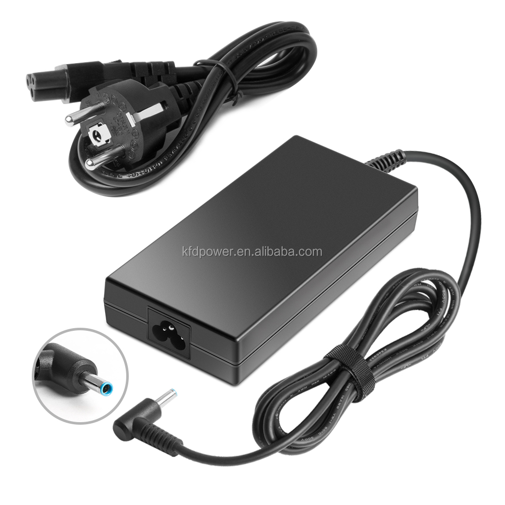 19.5 V 6.15 A 120 Watt AC DC Adapter for HP  4.5 * 3.0 mm  CE FCC ROHS