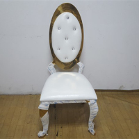 Fashionable factory price bride and groom louise chair wedding