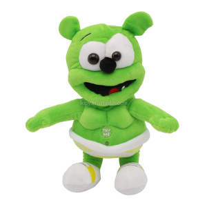 ISO Hot Wholesale Music Gummy Bear Animal Plush Toy For Kid Birthday Gift