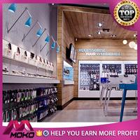2017 OEM/ODM factory supply modern mobile phone shop decoration, Best selling Elegant phone shop design for sale