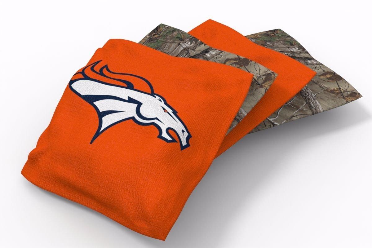 Denver Broncos RealTree Camo Bean Bags-4pk (B)