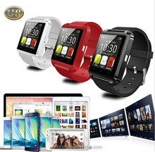 Qwd telefono orologio smart u8 bluetooth uwatch Multi- lauguage adatto per iOS Android mela