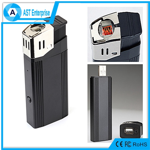 New Product Lighter Camera Spy 1080P V18 Lighter Hidden Camera With Flashlight