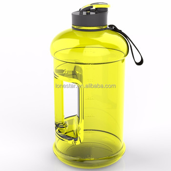 High Quality Shatterproof Water Bottle Handle Sport 2 2l Plastic