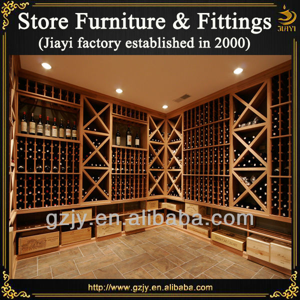 Caliente display soporte de montaje en pared estante del - Muebles para poner botellas de vino ...