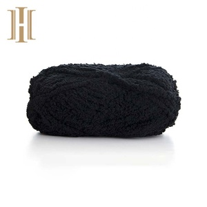 Low price crochet soft and fluffy Fancy Yarn for blanket and scarf Knitting china manufacturer
