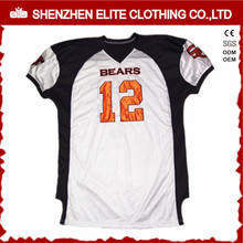 team practice tackle twill custom stitched american football jerseys