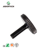 Standard threaded black plastic knob screws for machinery company