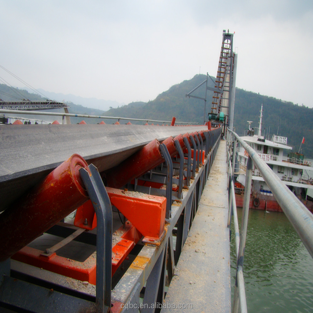 coal belt conveyor for Shale and Coal Batching System