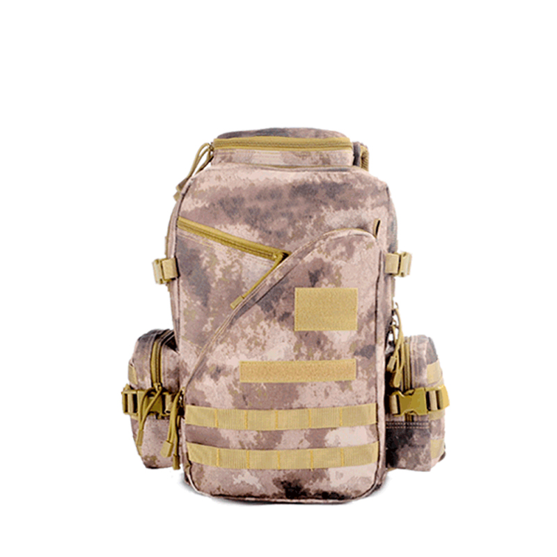 Custom camouflage tactical sports waterproof 600d shoulder outdoor 45L military cycling backpack