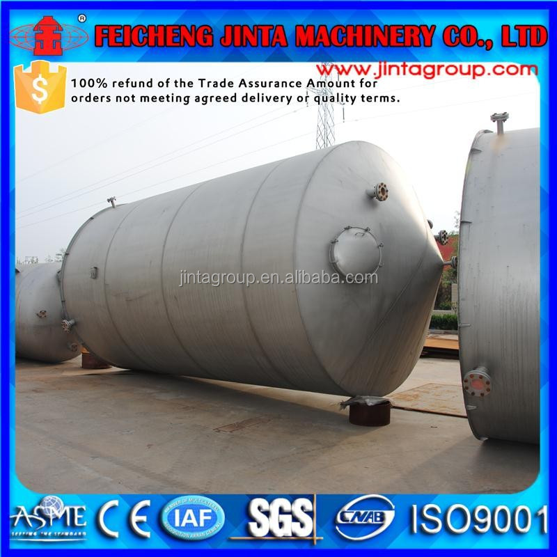 top quality large brewery beer storage fermentor tank, stainless steel alcohol fermentor tank