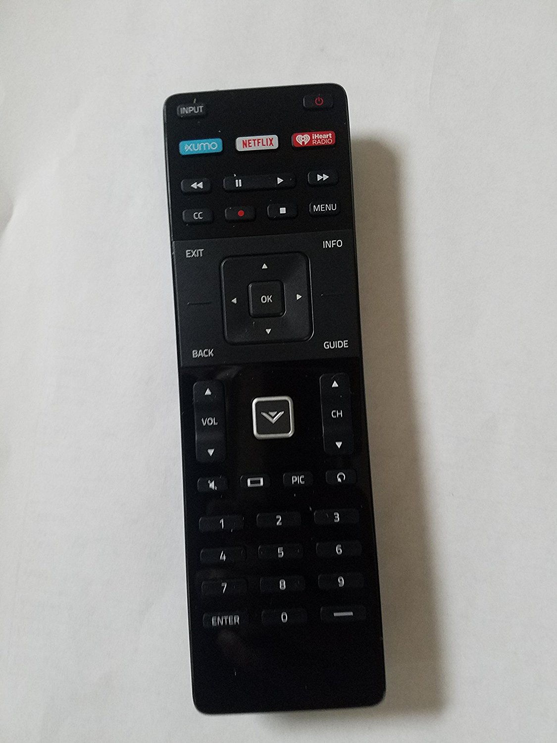 "Vizio D‑Series D48‑D0 48"" 1080p LED Smart TV Remote Control- XRT122"