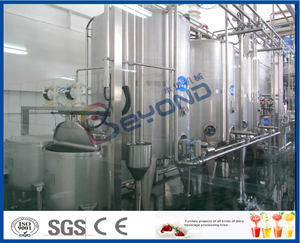 energy drink juice production line with PET bottle