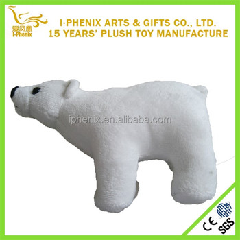 Small Size Polar Bear Soft Stuffed Plush Toys Manufacturer Buy