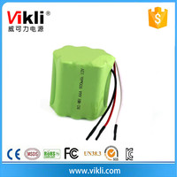12V nimh battery pack AAA type 800mah