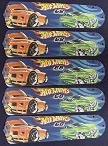 """Hot Wheels 21"""" Ceiling Fan Blades"""
