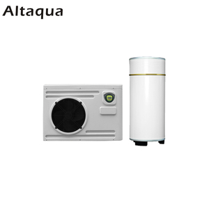 Altaqua best mini monoblock air to water solar energy source hot water heat pump water heater reversible heating system