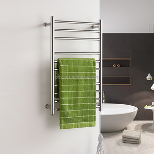 stainless steel Hotel Electric towel warmer rack