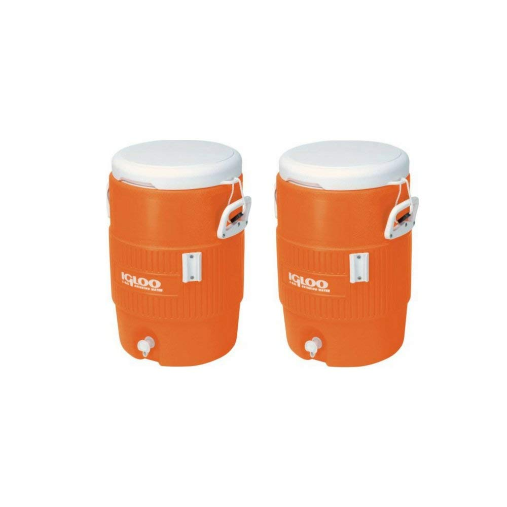 Igloo 5 Gallon Seat Top Beverage Jug with spigot Pack of 3