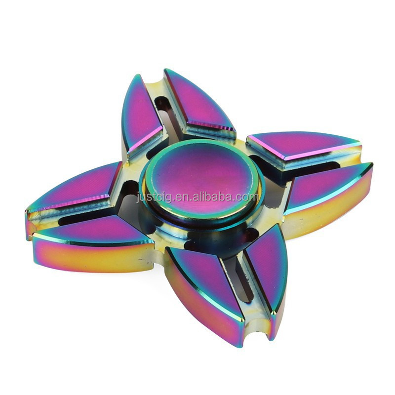 2017 new hot crazy spinner toy release stress toys dazzling spinner high quality from Justcig