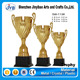 gold plating decoration large trophy sport cup customized for gifts