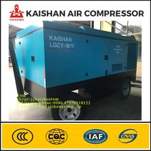 1 stage compression unit portable diesel air compressor