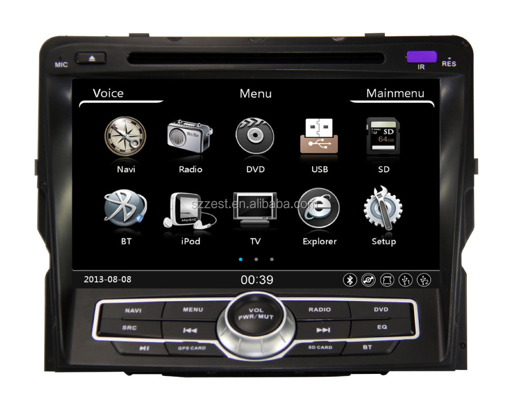 Touch Screen 2011 2 Din Car DVD GPS RadioTV USB 3G, for hyundai sonata in dash car gps navigation system#