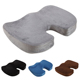 Amazon Embroidered Fabric Velvet Gel Cooling Coccyx Cushion Pads Wholesale Custom Pillow Car Memory Foam Gel Chair Seat Cushion