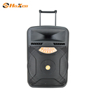 High Quality 150W Powered Plastic Subwoofer Speaker Trolley Speaker
