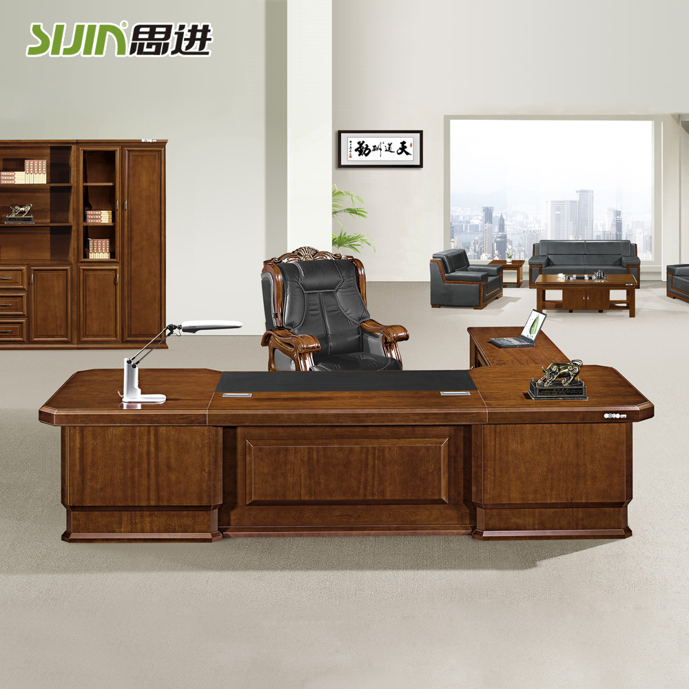 Manger Office Table Design L Shaped Desk For Boss Product On Alibaba