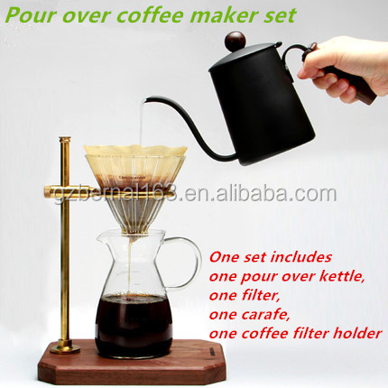 Pour Over Coffee Maker Benefits : Wholesaler: Pour Over Coffee Kettle, Pour Over Coffee Kettle Wholesale - Supplier China ...