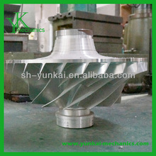 Precision stainless steel impeller wheel for centrifugal submersible pump