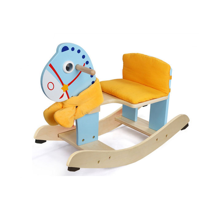 High Quality Wooden Horse Kids Rocking Chair for Sale