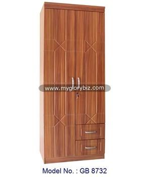 2 Portes Simple Garde Robe Moderne Pour Chambre Meubles De Maison