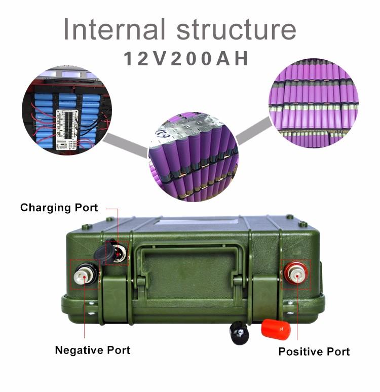Wholesale Lithium Ion 12v 24v 100ah Llithium Battery Pack
