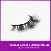 made in China handmade private label 3D real mink lashes