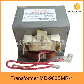 Microwave High Voltage Transformer Md-903emr-1 - Buy Microwave Transformer on