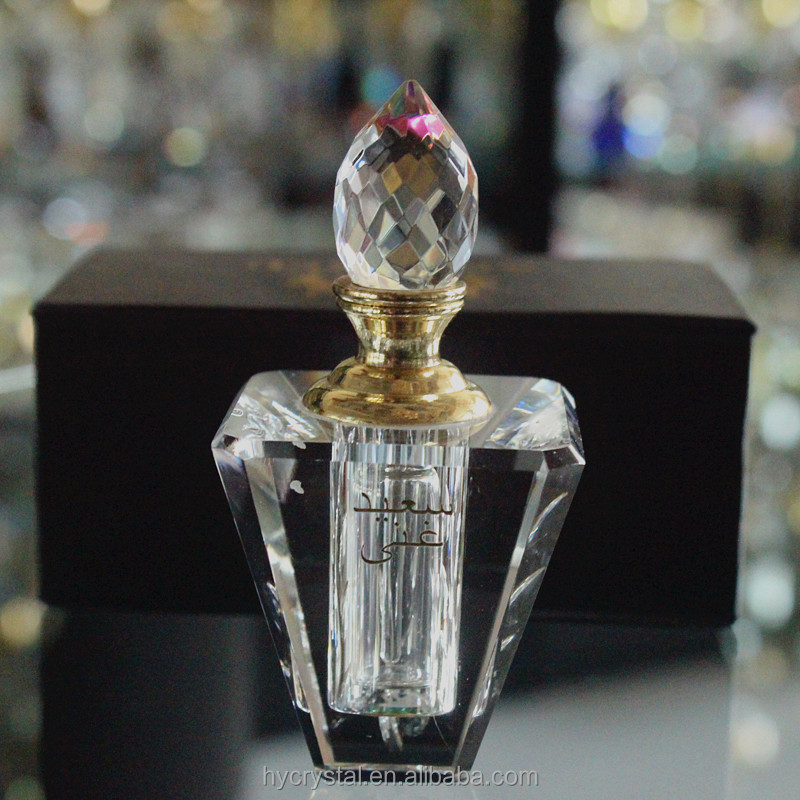 wholesale crystal glass transparent 5 ml perfume bottle 3 ml 10 ml with logo