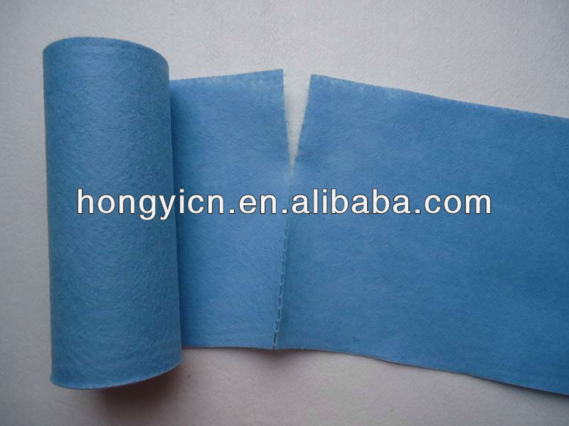 Germany nonwoven cleaning wipe/clothes/towels rolls (HY-W4100)