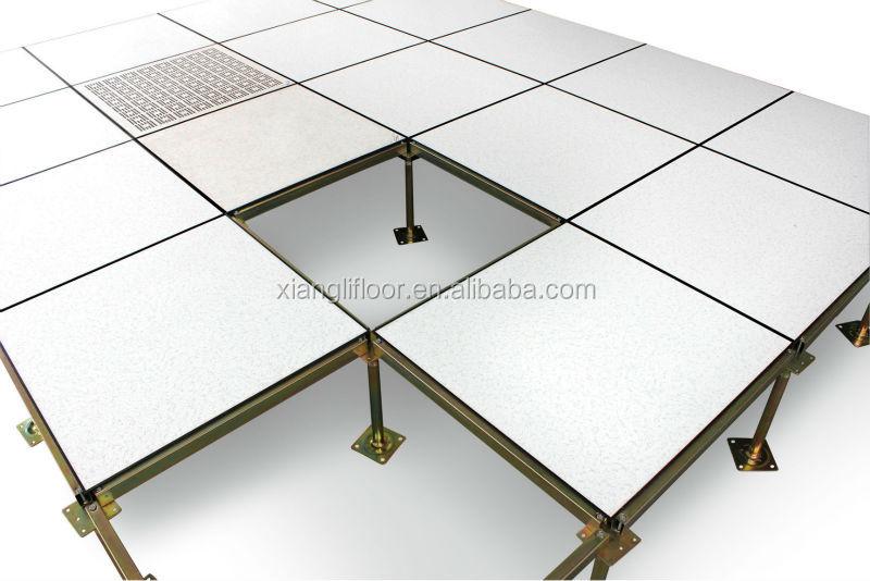 Steel raised floor gurus floor for Raised floor house