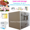 Most popular meat cold storage for kitchen use