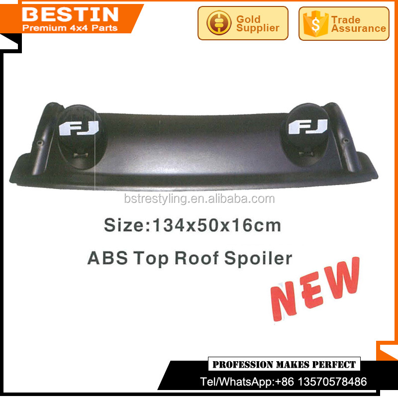 Manufacturer ABS Top Roof Spoiler for Toyota FJ Cruiser 2007-2014