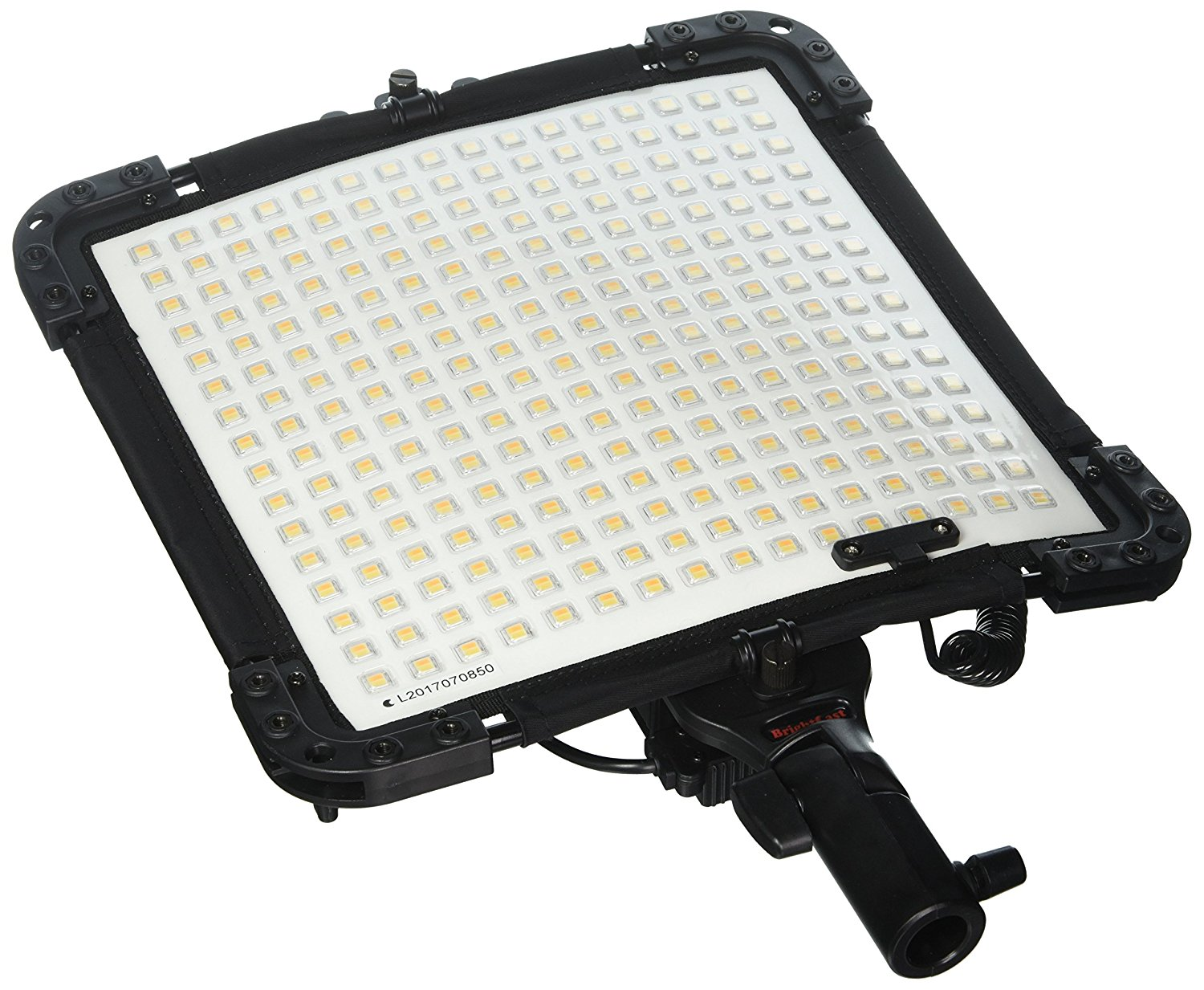Kamerar BrightCast V15-345P Bi-Color Flexible LED Light Panel with AC Adapter, Water Resistant, Shock Proof, Rugged, Daylight and Tungsten (V-Mount)