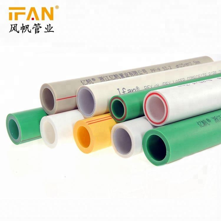 Meilleure vente ppr tuyau PN25 haute classe ppr tube écologique ppr nomme les raccords de tuyauterie