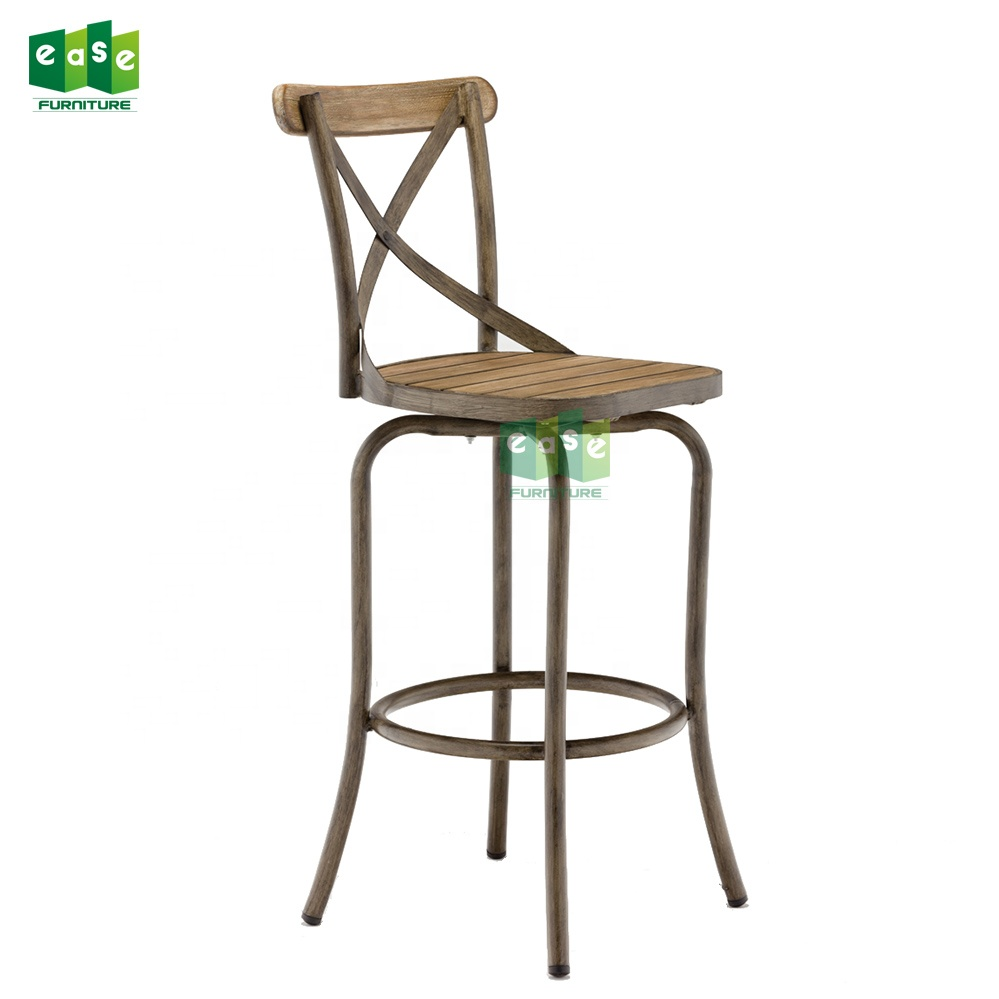 Modern tall yüksek geri bar sandalyesi bar taburesi (E1304BAR)