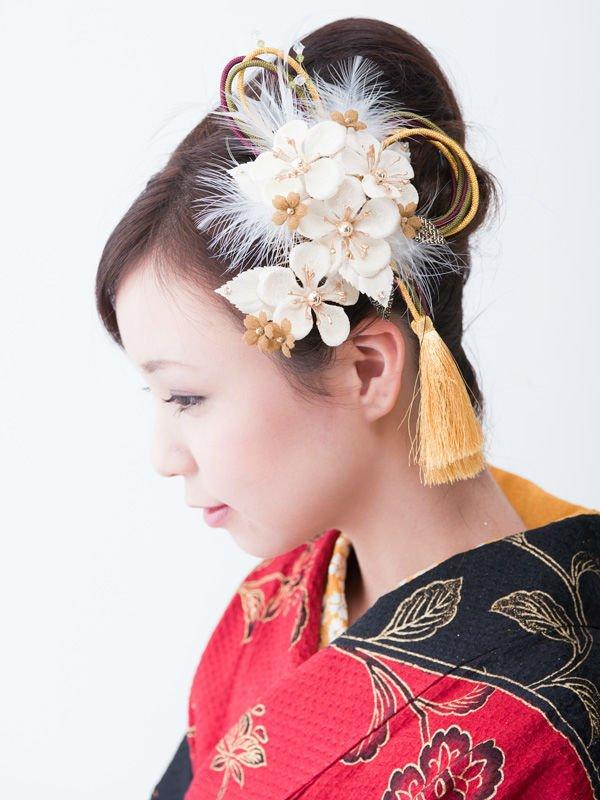 Adorno para el pelo (japonés artesanía tradicional)